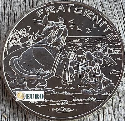 10 euros France 2015 - Asterix fraternité et les Normands