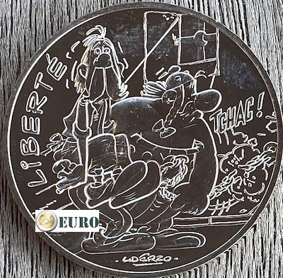10 euros France 2015 - Asterix Liberté Chez les Bretons