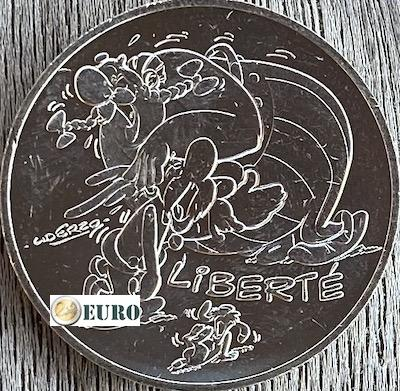 10 euros France 2015 - Asterix Liberté Le Cadeau de César