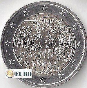 2 euros Allemagne 2019 - G Mur de Berlin UNC