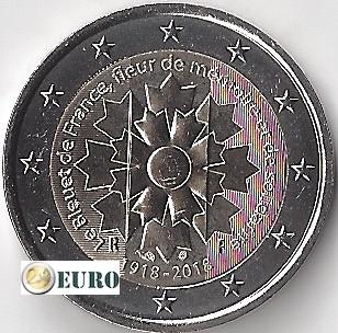 2 euros France 2018 - Bleuet UNC