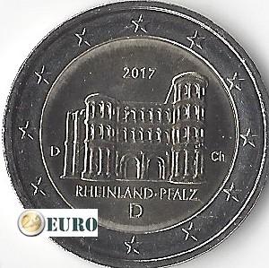 2 euros Allemagne 2017 - D Rheinland-Pfalz UNC