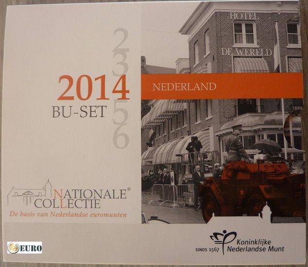 Série euro BU FDC Pays-Bas 2014 Journée de la Libération