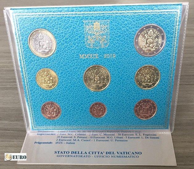 Série euro BU FDC Vatican 2019