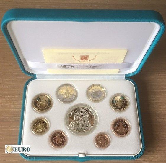 Série euro BE Proof Vatican 2019 + 20 euros argent