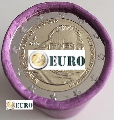 Rouleau 2 euros Grèce 2019 - Manolis Andronikos