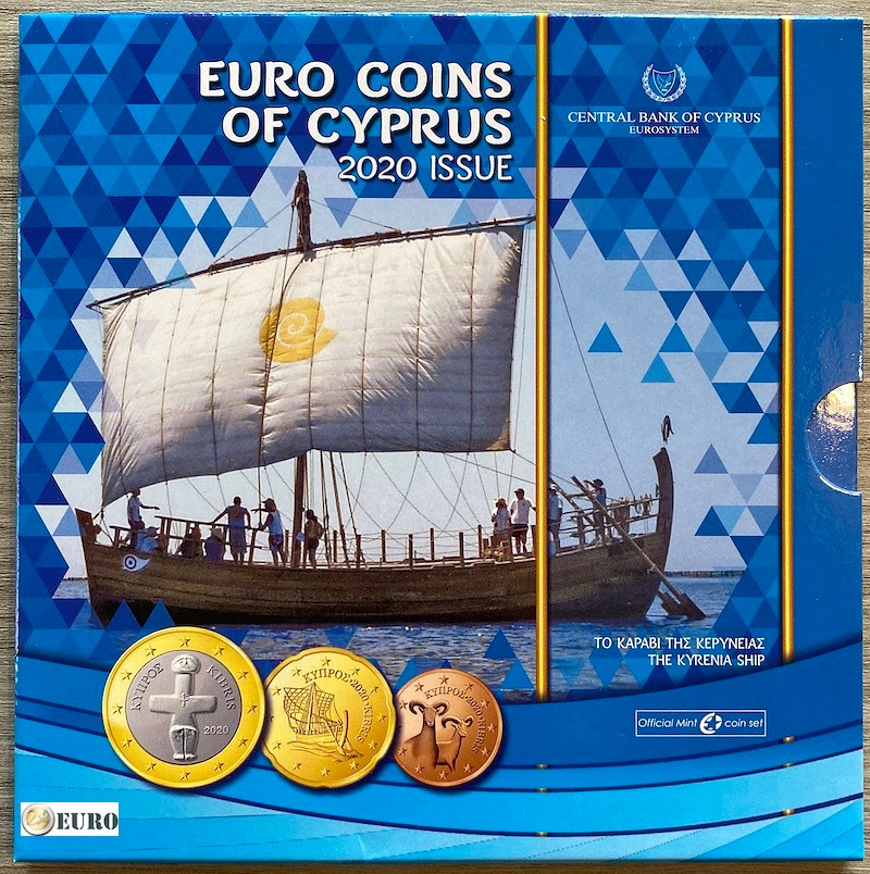 Série euro BU FDC Chypre 2020 Kyrenia