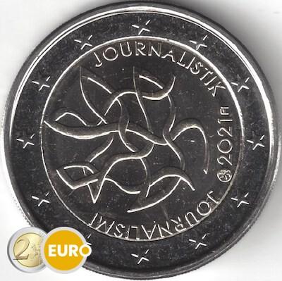 2 euros Finlande 2021 - Journalisme UNC