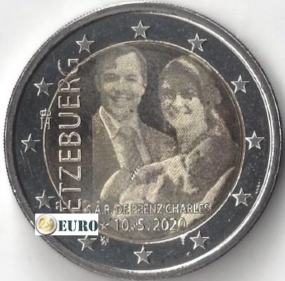 2 euros Luxembourg 2020 - Charles de Luxembourg UNC photo