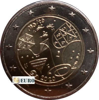 2 euros Malte 2020 - Jeux UNC poinçon MdP
