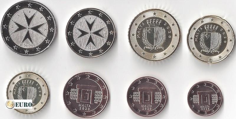 Série euro UNC Malte 2020