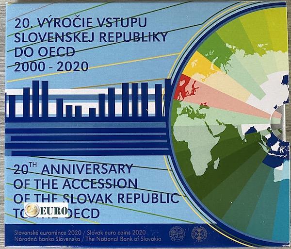Série euro BU FDC Slovaquie 2020 - Adhésion à l'OCDE