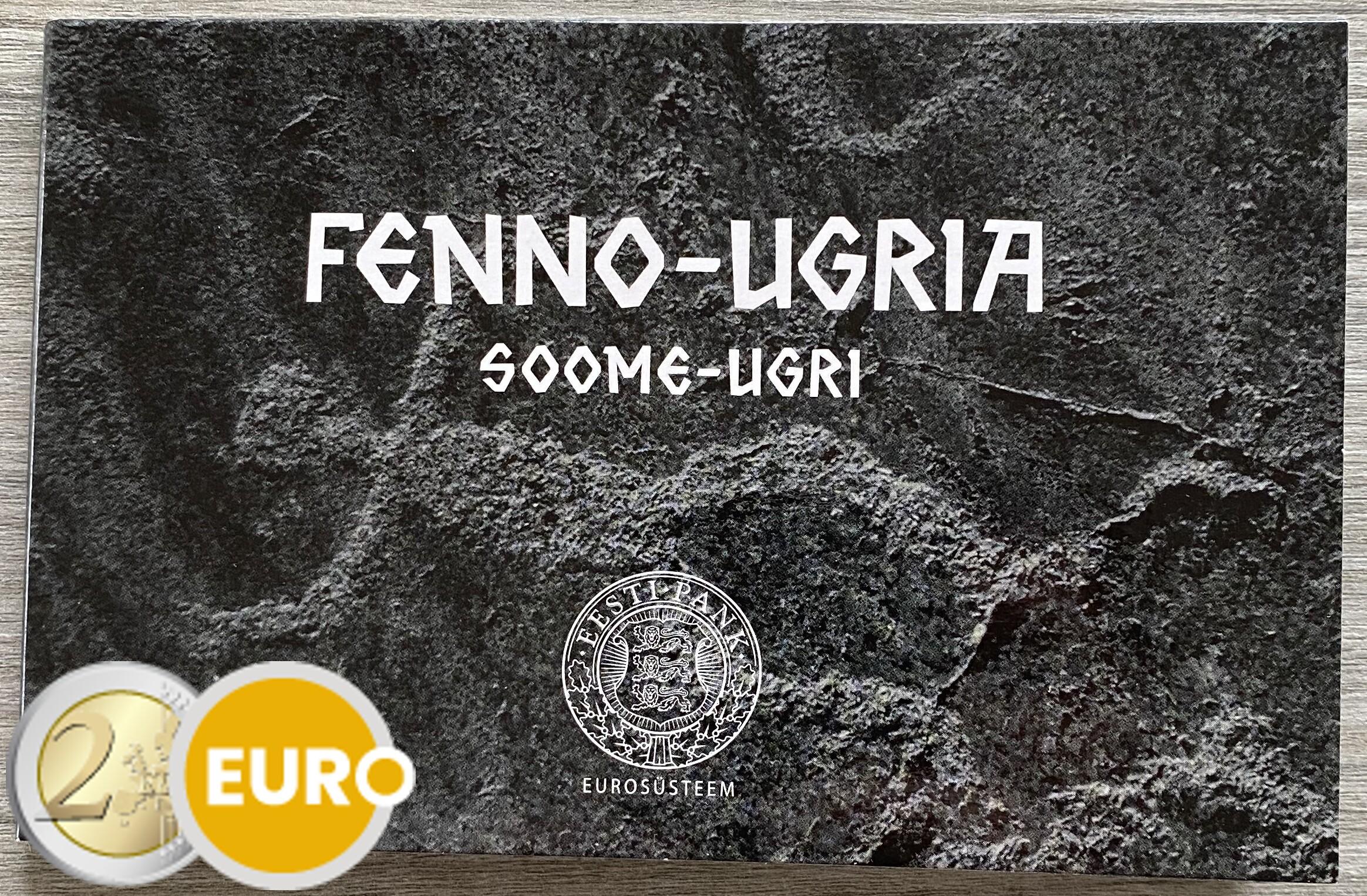2 euros Estonie 2021 - Peuples finno-ougriens BU FDC Coincard