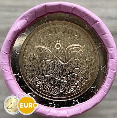 Rouleau 2 euros Estonie 2021 - Peuples finno-ougriens