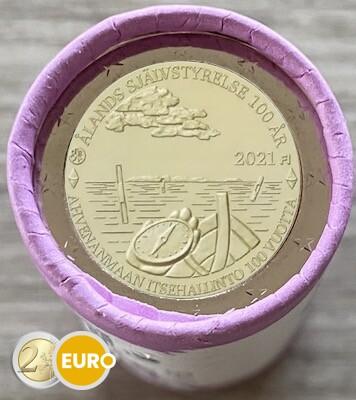 Rouleau 2 euros Finlande 2021 - Iles Aland
