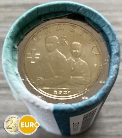 Rouleau 2 euros Italie 2021 - Grazie Professions de la santé