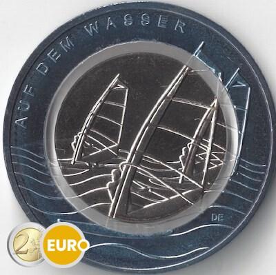 10 euros Allemagne 2021 - Sur l'eau UNC