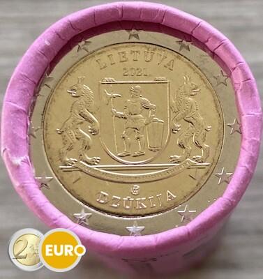 Rouleau 2 euros Lituanie 2021 - Région de Dzukija