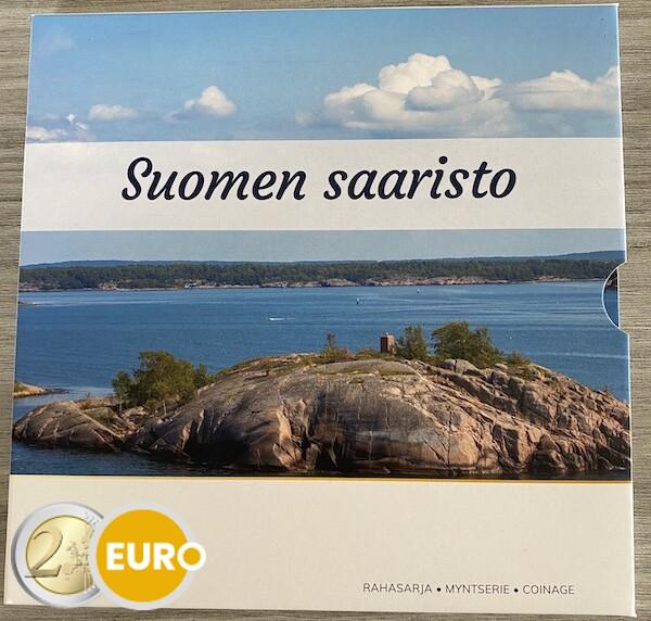 Série euro BU FDC Finlande 2021 archipel finlandais