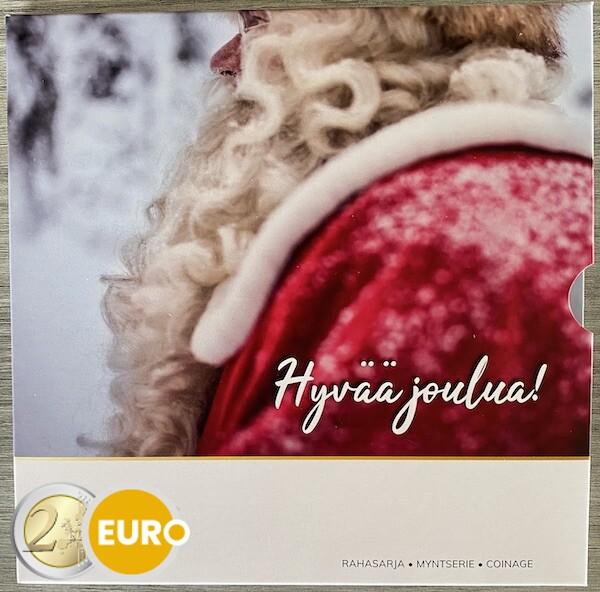 Série euro BU FDC Finlande 2021 Noël